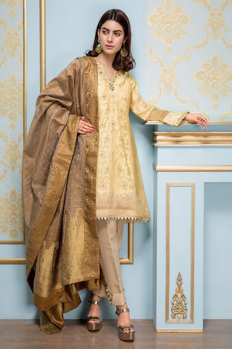 Sadia Aamir - Light Yellow Meringue - SA-LP07