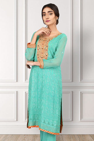 Sadia Aamir - Sea Green Jewels - SAL-11