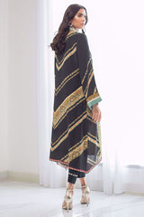 Sania Maskatiya - Black Crepe Long Tunic - PD19RG010
