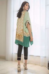 Sania Maskatiya - Green Digitally Printed Crepe Kurta - PD19RG012