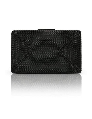 Hermosa - Nero Black Clutch