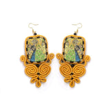 Huma Adnan - Royal Yellow Earring