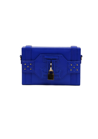 Julke - Electric Blue Diva Clutch