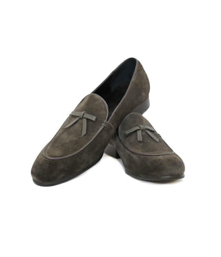 Mochi Cordwainers - Grey Belgian Loafers