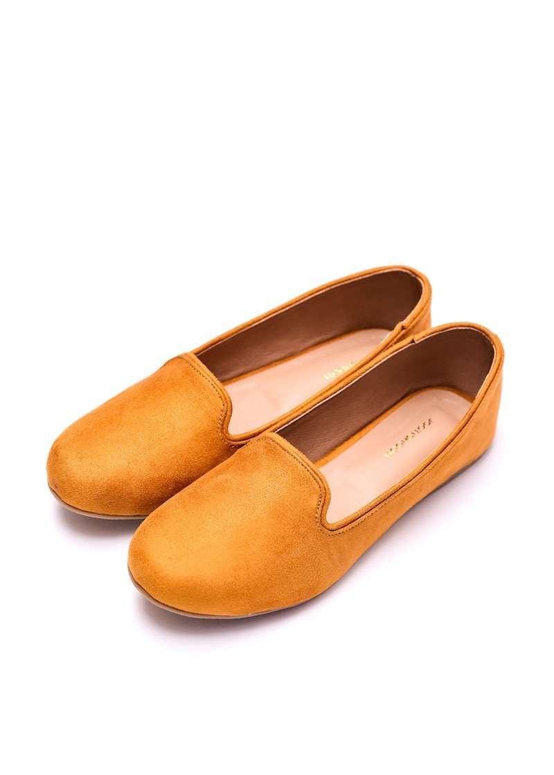 Step Up by JootiShooti - Mustard Loafers