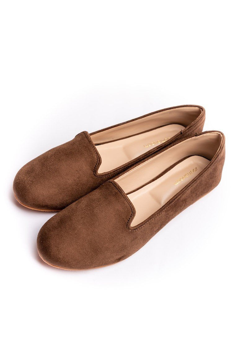 JootiShooti - Chocolate Brown Loafers