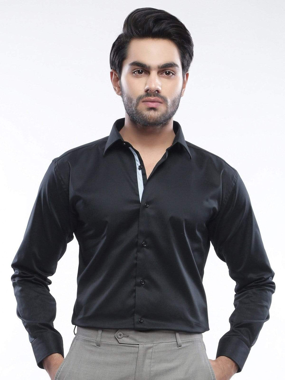 The Cress - Black Premium Designer Shirt
