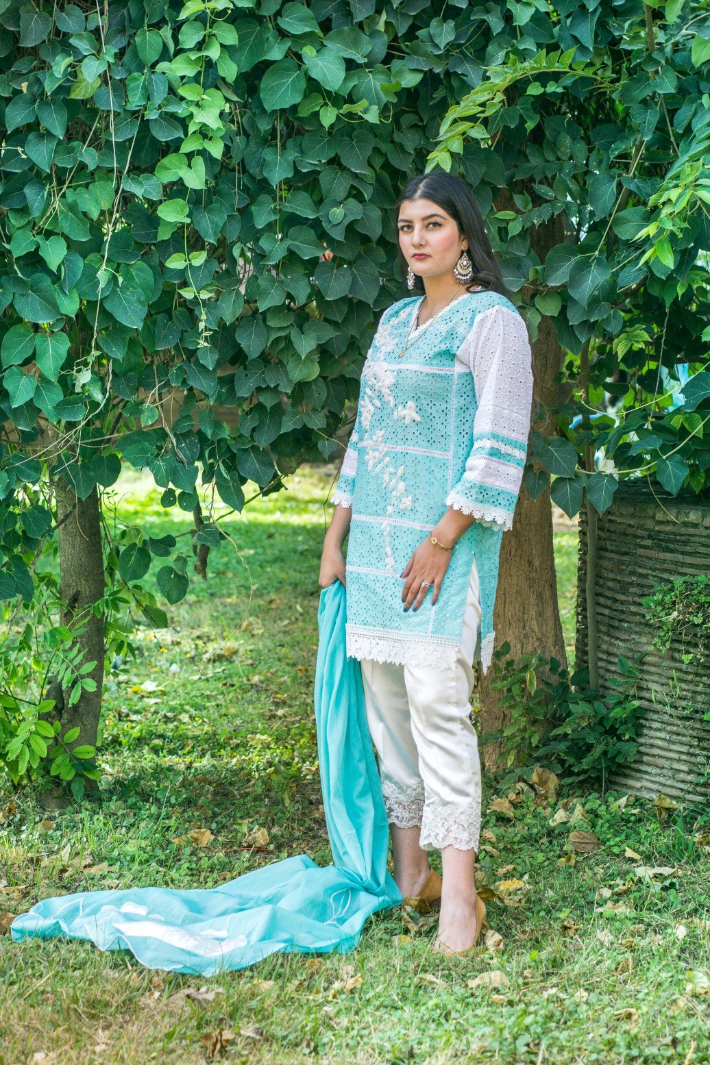 Dilaawaiz by Sahar - Light Blue - ENS-015