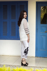 Dilaawaiz by Sahar - Off White - ENS-017