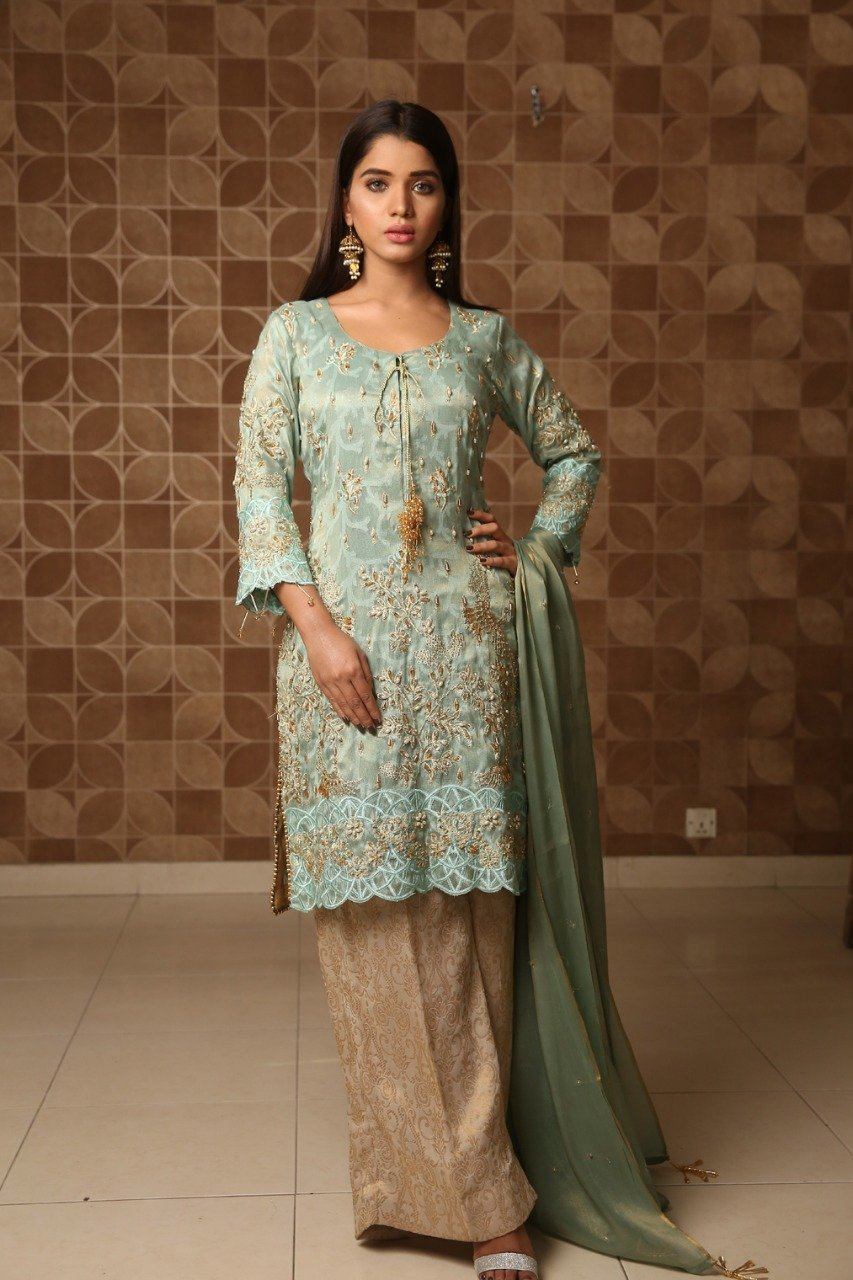 Maliha Kamal - Green Mint Glam