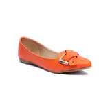 Milli Shoes - Orange Loafers - 8661