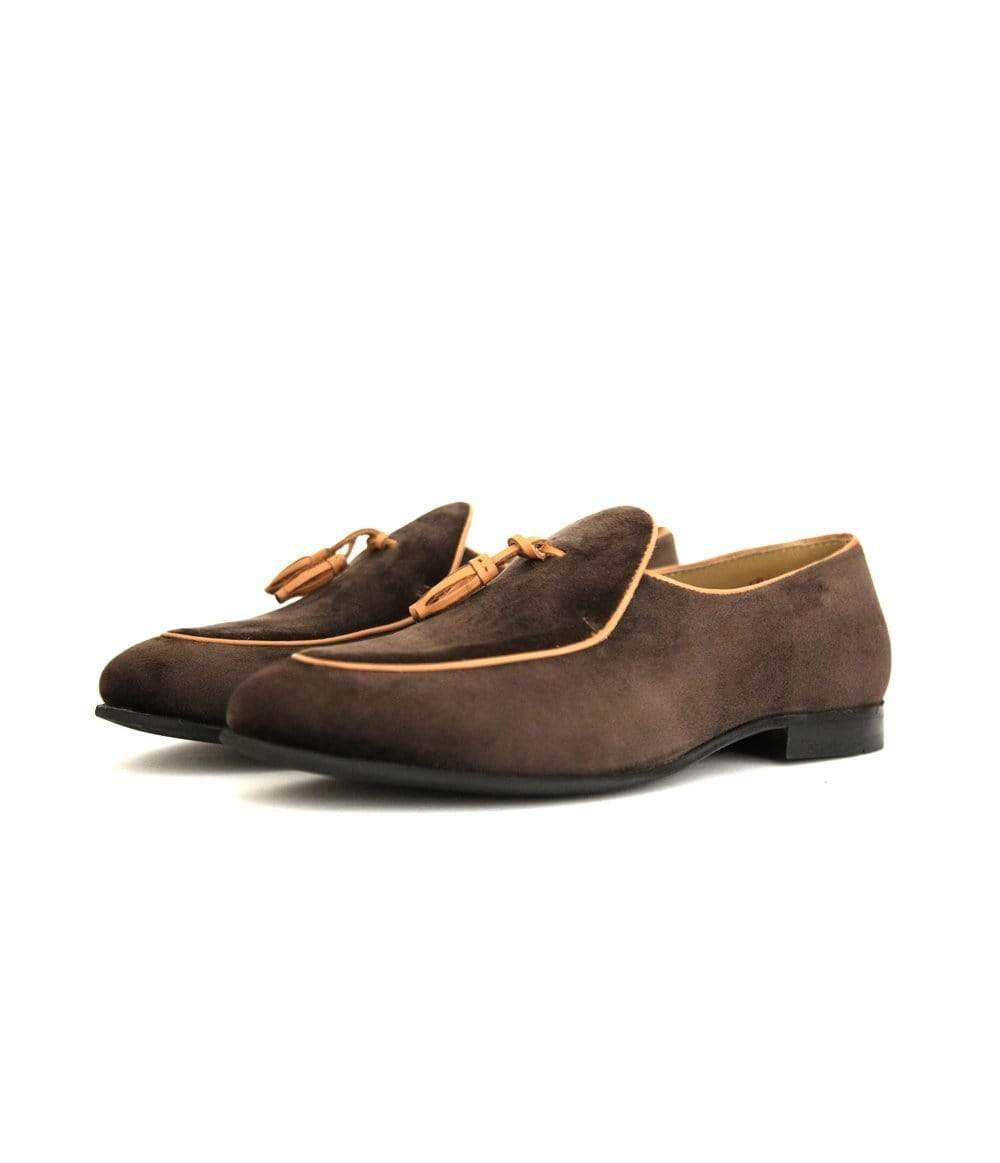 Mochi Cordwainers - Brown Tudors Slipon