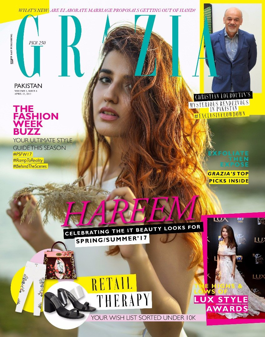 Grazia Pakistan April 22nd Issue 2017