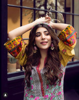 Faiza Samee - Kaftan With Pants
