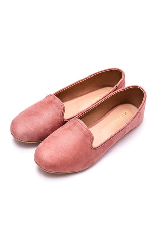 Step Up by JootiShooti - Tea Pink Loafers