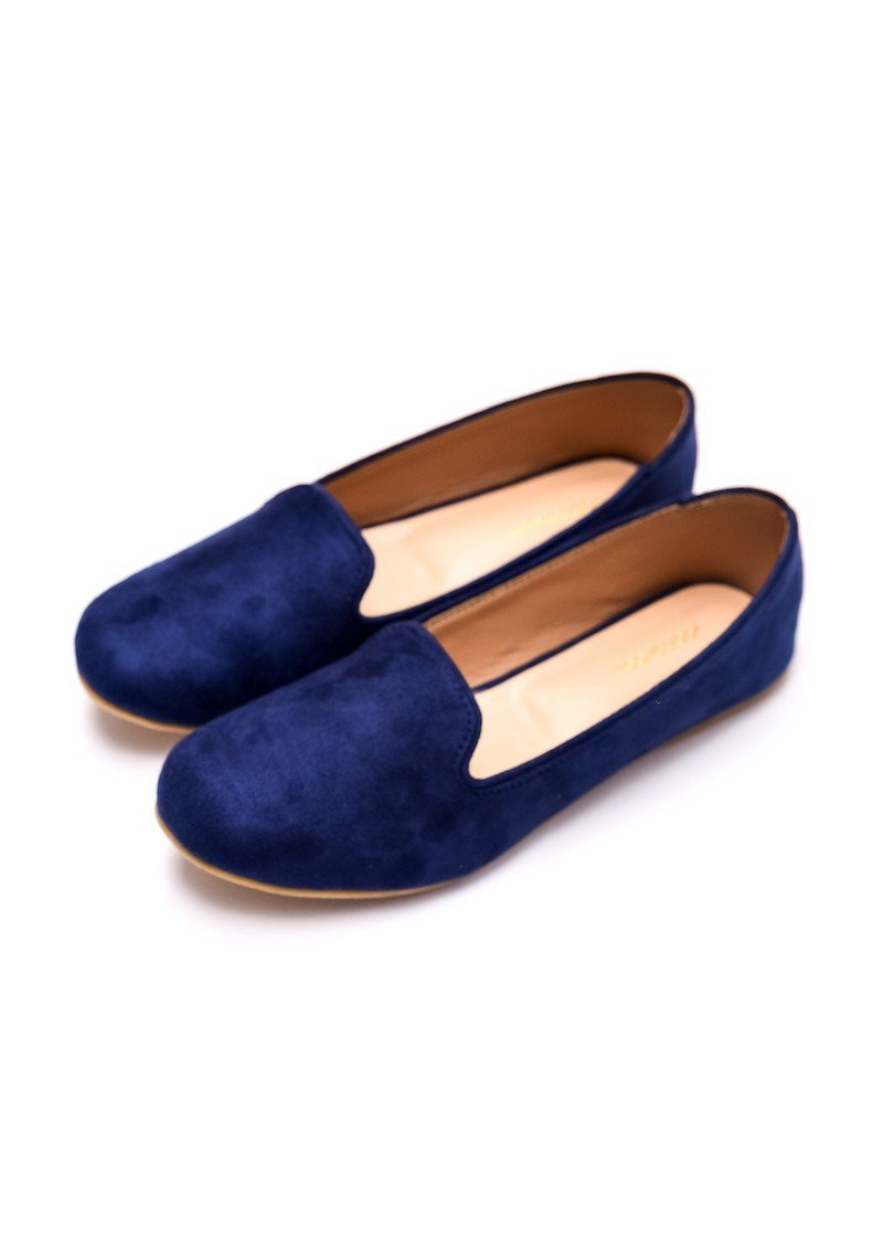 Step Up by JootiShooti - Navy Blue Loafers