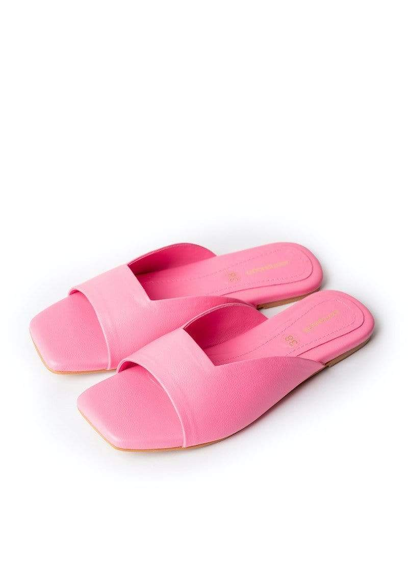 JootiShooti - Lizzie In Candy Pink Slides (Limited Edition)