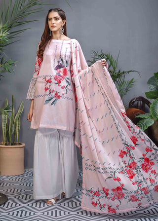 Soffio - Unstitched Lawn Collection Khwabeeda SK-011 - 2 PC