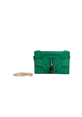 Julke - Bean Green Diva Clutch