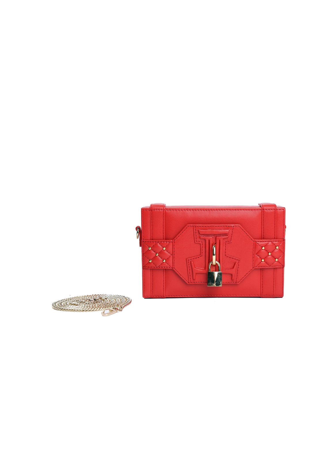 Julke - Poppy Red Diva Clutch