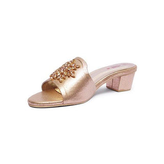 Milli Shoes - Gold Slides - 1507