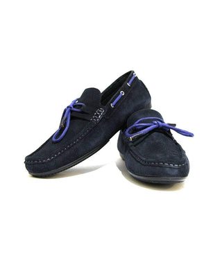 Mochi Cordwainers - Blue Driver moccasin