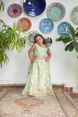 Shehrnaz - Sea Green SHKG-425