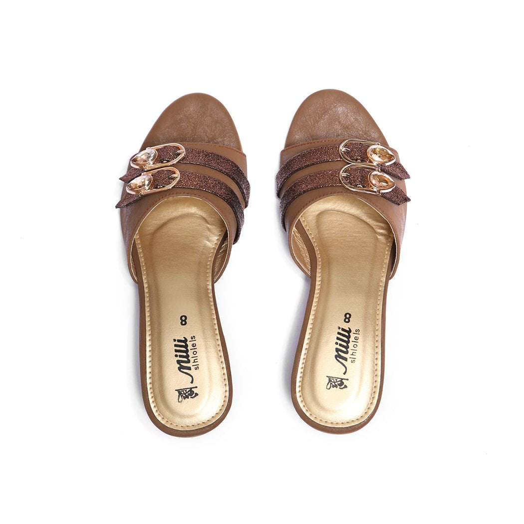 Milli Shoes - Brown Heels - 1425