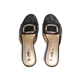 Milli Shoes - Black Heels - 1424