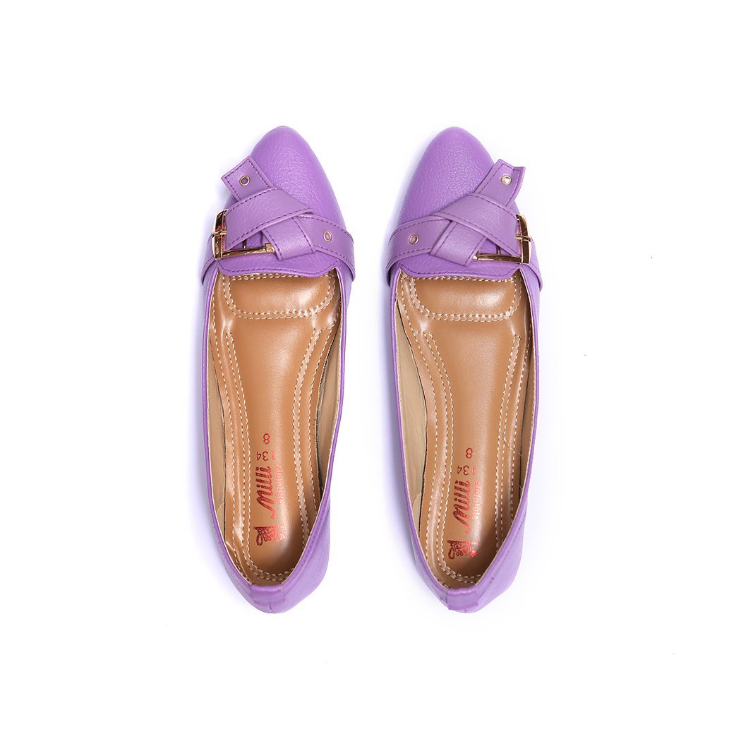 Milli Shoes - Purple Loafers - 8661