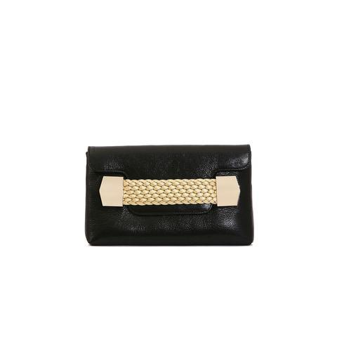 Julke - Black La Ruche Clutch
