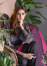 Soffio - Unstitched Lawn Collection Khwabeeda SK-022 - 2 PC