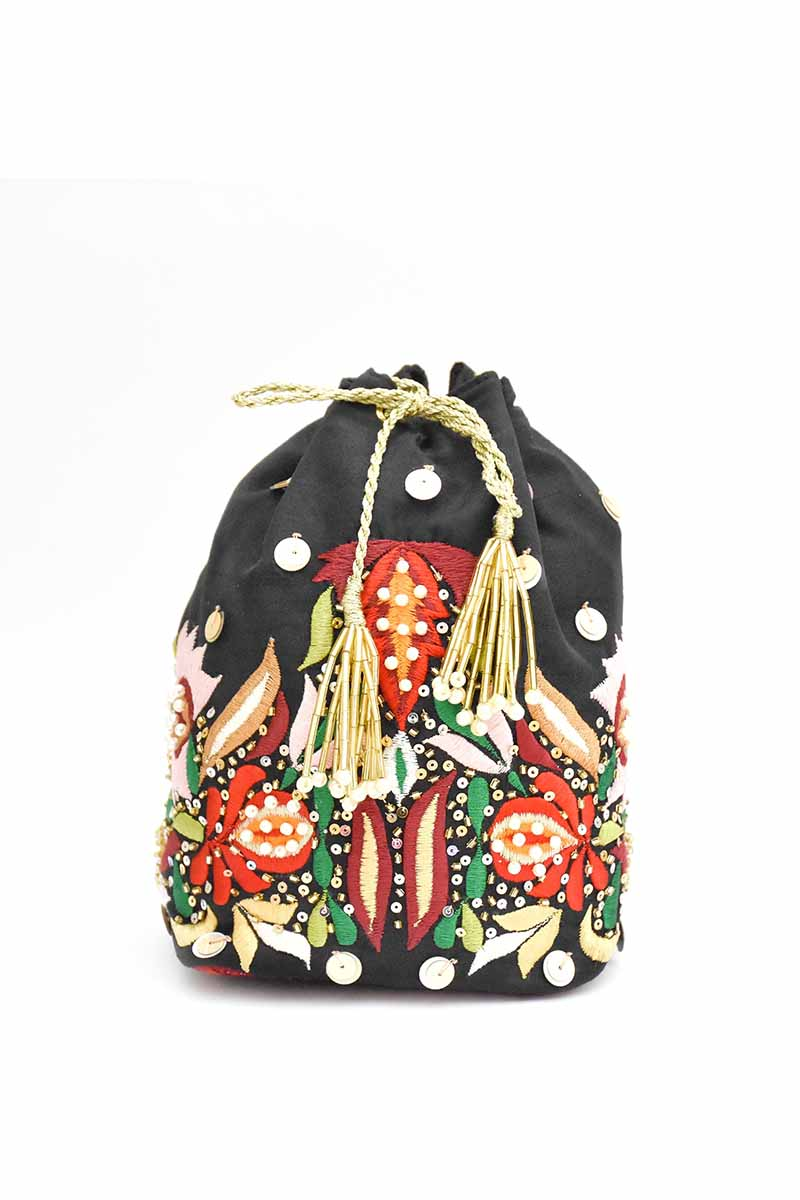 Chapter 13 - Black Potli Bag-C
