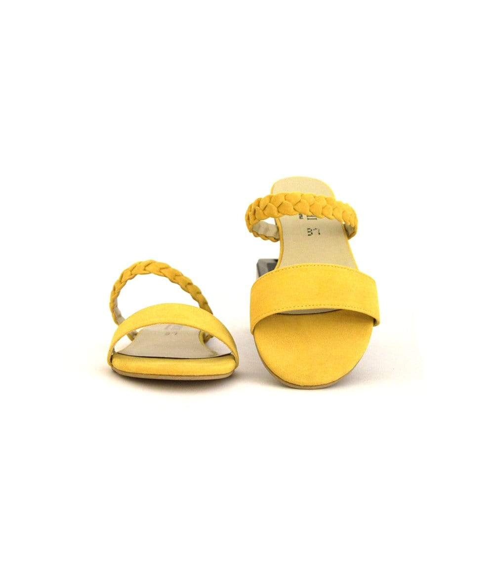 Mochi Cordwainers - Yellow Troy Slippers
