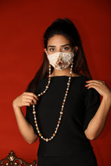 Huma Adnan - Off-White Couture Mask