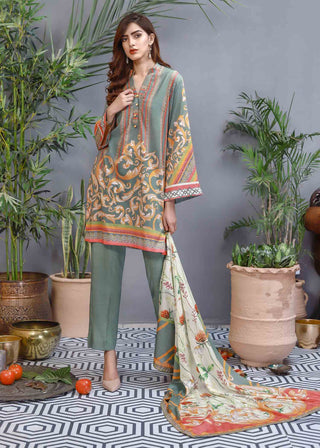 Soffio - Unstitched Lawn Collection Khwabeeda SK-000 - 2 PC