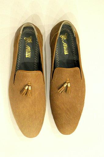 Milli Shoes - Mustard Mocassion