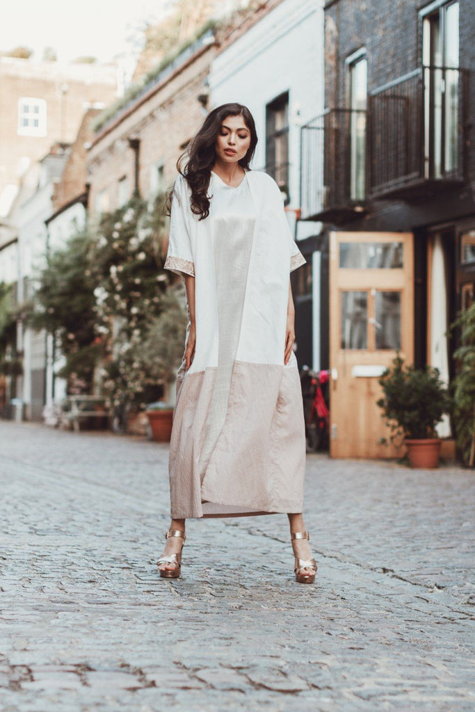 Aywa London - Sandhay Abaya - Hand Crafted as an One-Off Piece