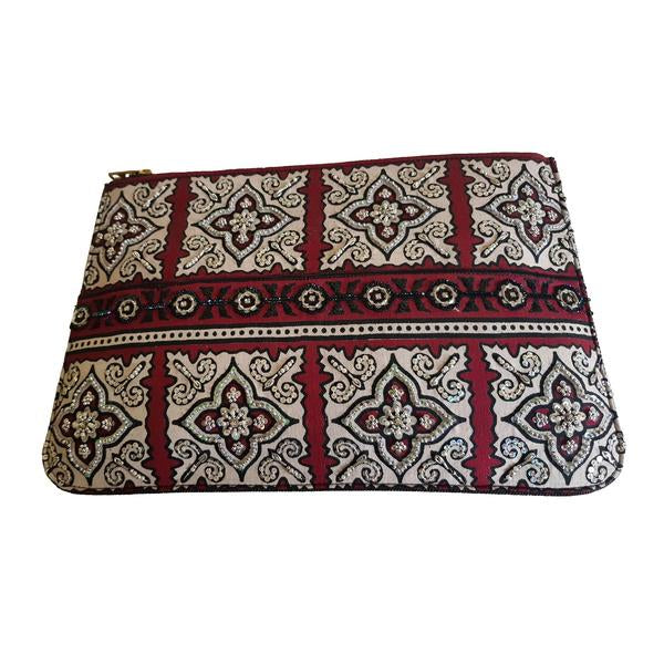Marvi - Ajrak Clutch