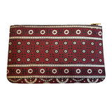 Marvi - Black Ajrak Clutch