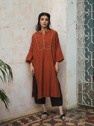 Misha Lakhani - Rust Shaded Bundi