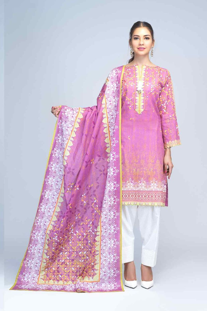 Bonanza Satrangi - Light Purple Cotton Candy - 2 PC