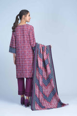 Bonanza Satrangi - Purple Twilight A - 3 PC