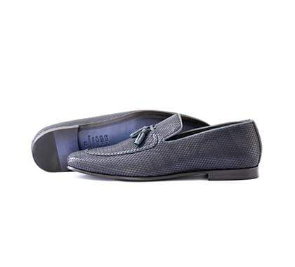 Mochi Cordwainers - Blue Tassle Loafers