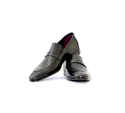 Mochi Cordwainers - Black Premium Penny Loafers