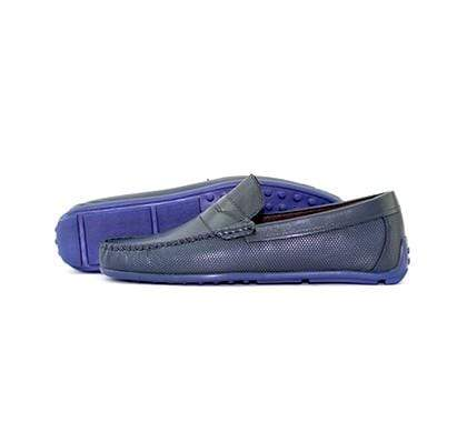 Mochi Cordwainers - Dark Blue Driving Mocassins