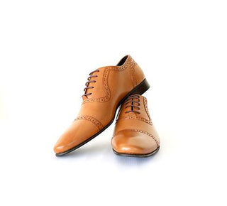 Mochi Cordwainers - Tan Oxfords