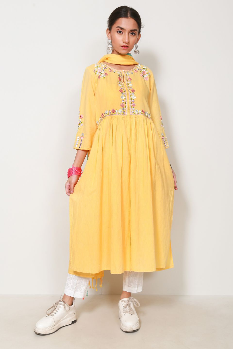 Generation - Yellow  Gulrukh Suit