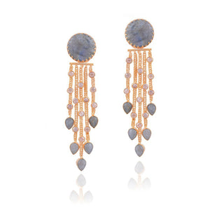 Red Dot Jewels - Ciana Laboridate Tassel Earring