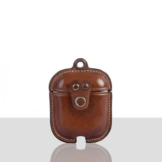 Novado - Mario Veg Tanned Leather Luxury Protective Cover Case for Apple Airpods 1 & 2 - 7108-SA08-08